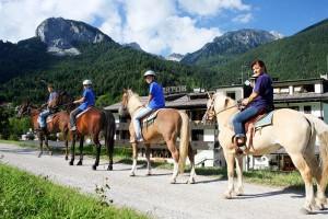 Trekking a cavallo – passeggiate a cavallo