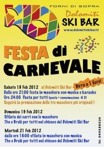 Carnevale a Forni di Sopra