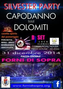 Festa di Capodanno sulle Dolomiti 2014-2015